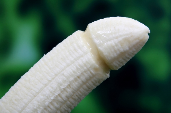 Banana, symbolic of safe sex in the modern world